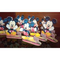 Centros De Mesa Disney Mikey Fibrofacil.
