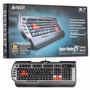 Teclado Gamer A4tech X7 Usb. 15 Macros Configurables.