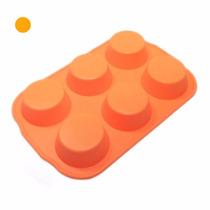Moldes De Silicona X6 Cupcakes Multiuso Flexible Calidad