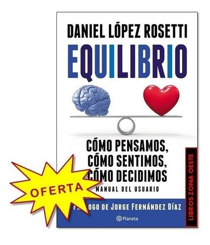 Equilibrio Daniel Lopez Rosetti Original Nuevo