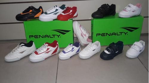 82ac631fd Botines Futsal   Zapatillas Penalty Kids! Varios Colores