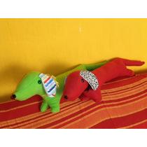 Muñeco De Trapo-peluche Perro Salchicha