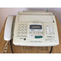 Fax Panasonic Kx-fp200 C/id Y Papel Común Como Nuevo