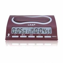 Reloj Profesional De Ajedrez Leap Pq9903, El Más Completo