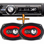 Stereo Luxell Sd Usb Aux Bluetooth Desmontable + 6x9 300w