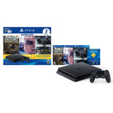 Playstation 4 1tb Slim Ps4 + Joystick + 3 Juegos Sony Store