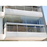 Cerramiento De Balcon Sin Parantes, Vidrio Templado