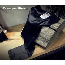 Pantalon De Raso Elastizado (fiesta - Casual) Talle 52 Al 60