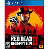 Red Dead Redemption 2 Ps4 4k Fisico Sellado Nuevo Original