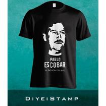 Remeras Personalizadas Pablo Escobar El Patrón Del Mal