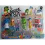 Blister 6 Muñecos Intensa Mente Disney Pixar (inside Out)