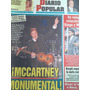 Diario Popular 11/11/10 Paul Mccartney En Argentina