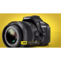 Camara Nikon D5300 Kit 18-55mm + Bolso Oferta! (d5200 D5500)