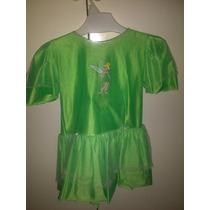 Disfraz Tinkerbell Original Talle 3 / 4 Años