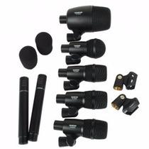 Set 7 Microfonos Bateria Takstar Dms-7as +valija+enviogratis