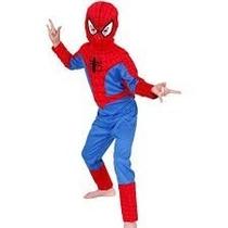 Disfraz Spiderman Hombre Araña Rojo Licencia Local Avengers