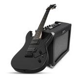 Combo Guitarra Dean Vendetta Xm T Black + Amplificador 30w