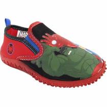 Zapatillas De Agua Super Héroes Marvel / Barbie