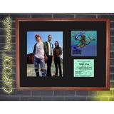 Nirvana Foto, Tapa Nevermind Firmada Y Entrada Recital 1991