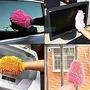 Guante Manopla Esponja Microfibra Multiuso Limpieza Auto