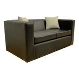 Sillón Sofa Cubo Original 2 Cuerpos En Ecocuero Fullconfort