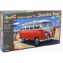 Combi Revell 7399 Volkswagen Samba Bus Maqueta Para Armar