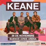 Entrada Para Keane 29/11 Ba Arena Campo Delantero