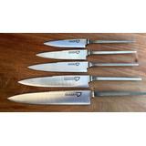 Hojas Para Encabar Cuchillos Acero Inox 12 Cm - 10 Unidades