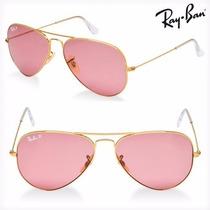 Anteojos Gafas Ray Ban Rb 3025 Aviator Rosa Talle S 55mm