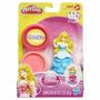 Play-doh Princesa Aurora Con Molde Muñeca Masa Brillos
