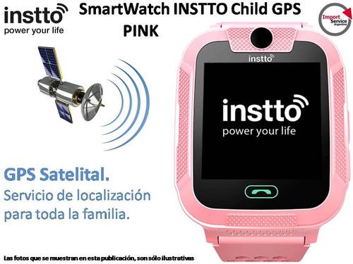Smartwatch Instto Child 2 Gps 3g Rastreo Cam Antipanico Rosa