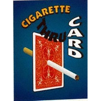 Cigarrillo Atraviesa La Carta ( Roja) Calidad Bicycle