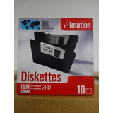 Diskette Imation 3,5 10 Cajas X 10 Unidades Made In U.s.a