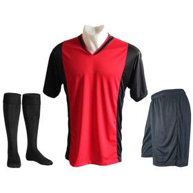 Pack 10 Camisetas Futbol Numeradas Short Medias Freetexs C1 6034997400087
