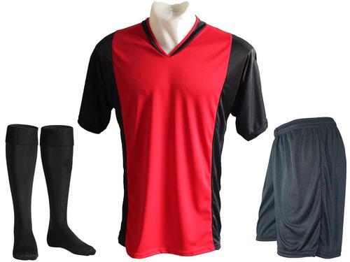 Pack 10 Camisetas Futbol Numeradas Short Medias Freetexs C1 9e81ad6e41d71