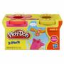 Educando Play-doh Pack X2 Amarrillo Y Rosa 23655 Nene Nena