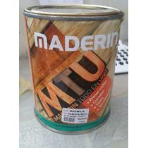 Maderin Todo Uno Barniz Curador Color X 1lts