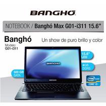 Notebook Bangho Max G01-i311 Intel I3 4gb Ram 500gb Hdd Wifi