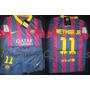 Camiseta Y Short Del Fc Barcelona Messi Neymar