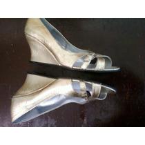 Zapatos Lara Lopez Nº36 Taco Chino-la Plantilla Mide 23,5cm.