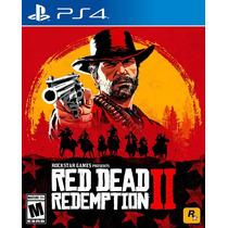 Red Dead Redemption 2 Ps4 Fisico Sellado Original !!!