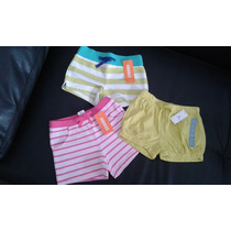 Short Algodón Nena Toddler Gymboree Babygap Original T.4 Y 5