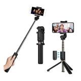 Monopod Baston Palo Selfies Celular Bluetooth Con Tripode  !
