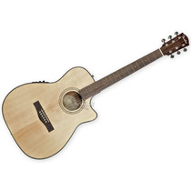 Guitarra Electroacustica Fender Cf140sce Folk Natural Eq