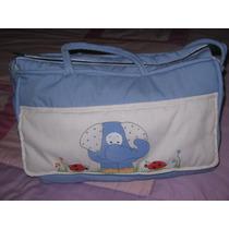 Bolso Maternal-pintado/mano-bordado-p/llevar Cosas Del Bebé
