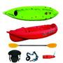 Kayak Atlantikayak K1 + Remo + Asiento + Silbato Y Mas