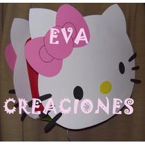 Piñata Figura Mickey-minnie-kitty!! En Goma Eva!!