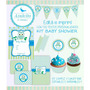 Kit Imprimible Baby Shower Nene Con Textos Editables!