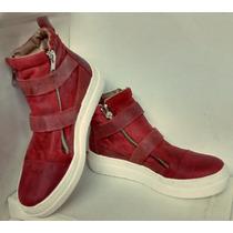 Zapatillas 100% Cuero Art. 1001