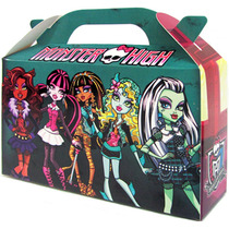 Monster High Bolsita Golosinera Souvenir Valijita Pack X 10